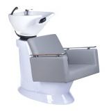 Kadeřnický mycí box MILO BH-8025 světle šedý