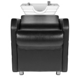Kadeřnický mycí box HSB46 - černý