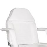 Kosmetické křeslo na kolečkách A-241 - bílé