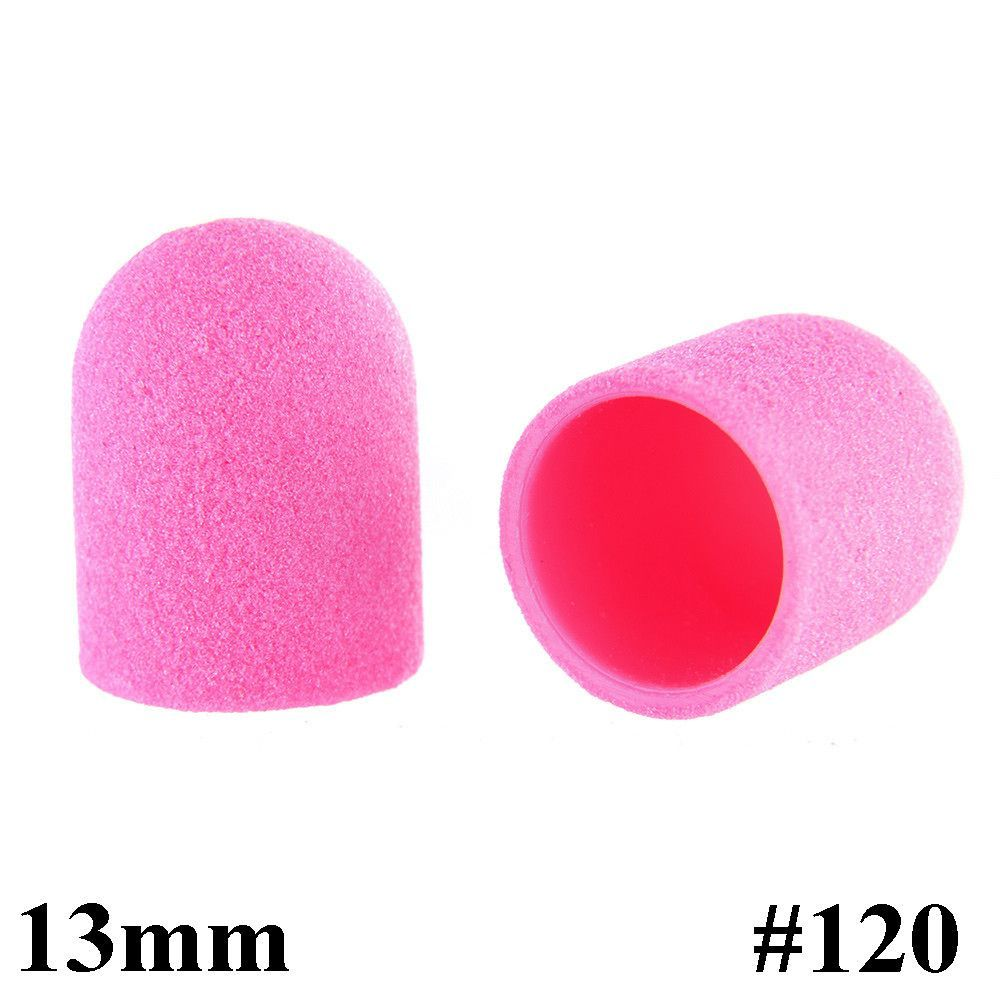 Brusné kloboučky 13 mm/120 - růžové