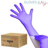 Jednorázové nitrilové rukavice modro-fialové XL - karton 10ks (VP)
