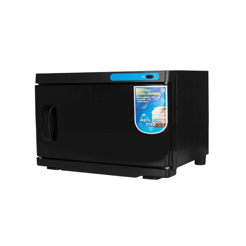 Ohřívač ručníků s UV- C sterilizátorem 16 l - černý