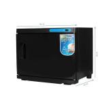 Ohřívač ručníků s UV- C sterilizátorem 23 l - černý