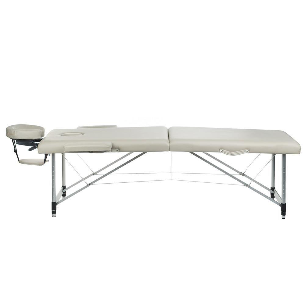 Skládací masážní a rehabilitační stůl BS-723 - šedý